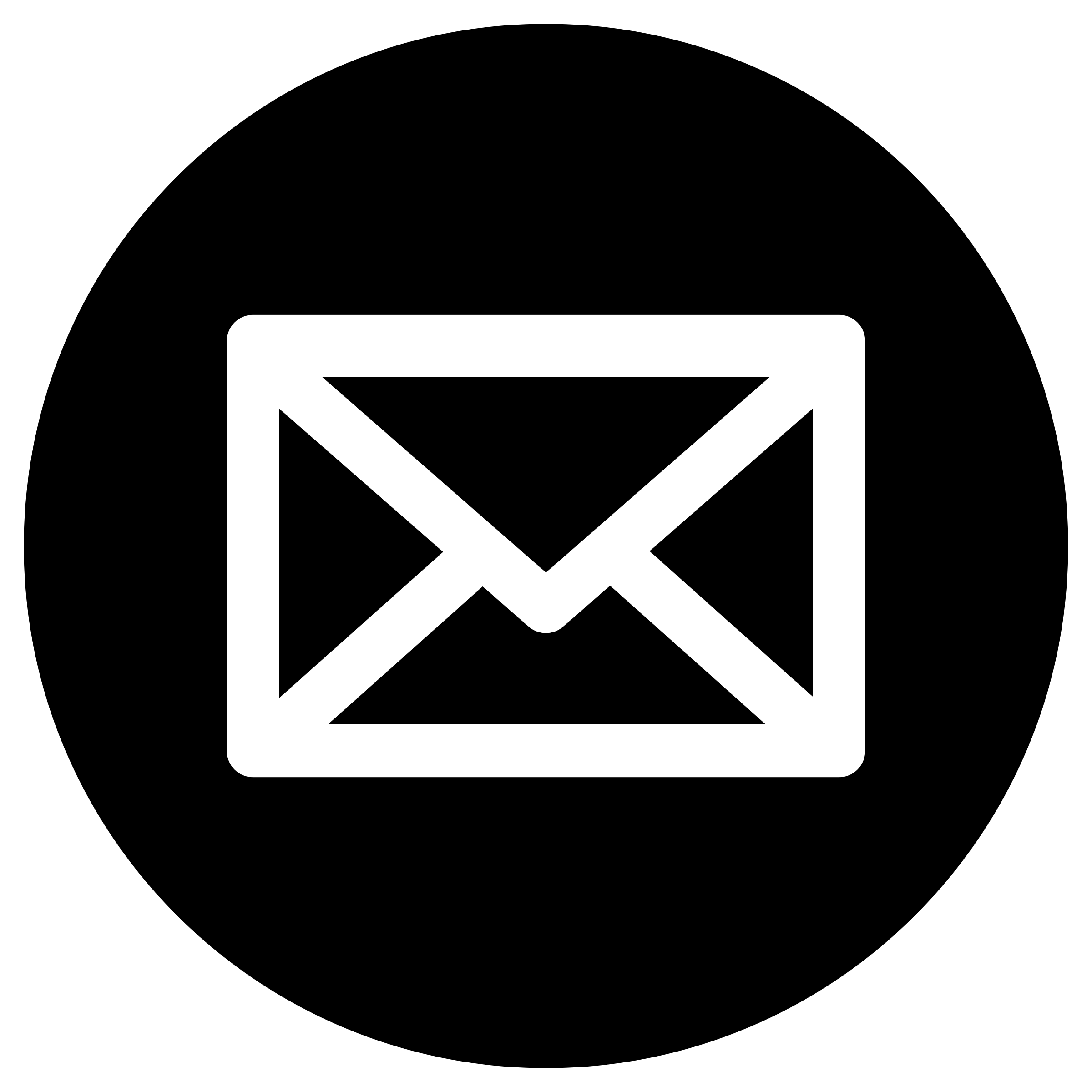 Mail to logo in black and white